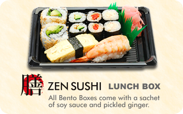 ZEN SUSHI delivery Box Style